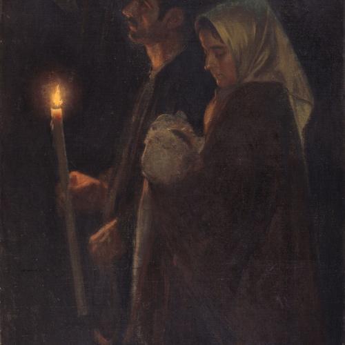 Sebastià Junyent - The Promise - Circa 1899