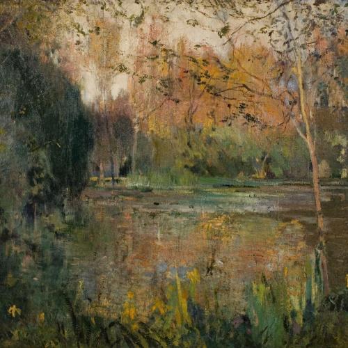 Joaquim Mir - Lilies and Mud - Circa 1918