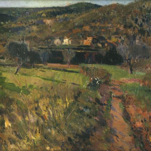 Joaquim Mir - El solei - 1919