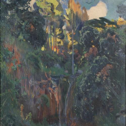 Joaquim Mir - El salt d'aigua - Cap a 1919-1921
