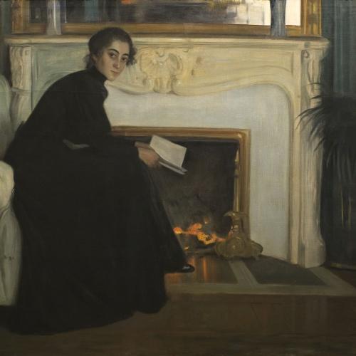 Santiago Rusiñol - Romantic Novel - Paris, 1894