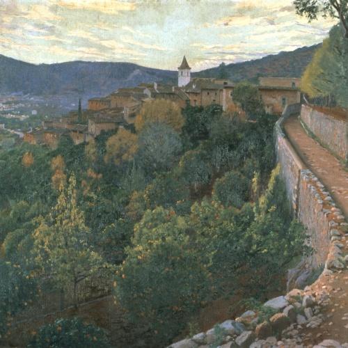 Santiago Rusiñol - Evening - Majorca, 1906