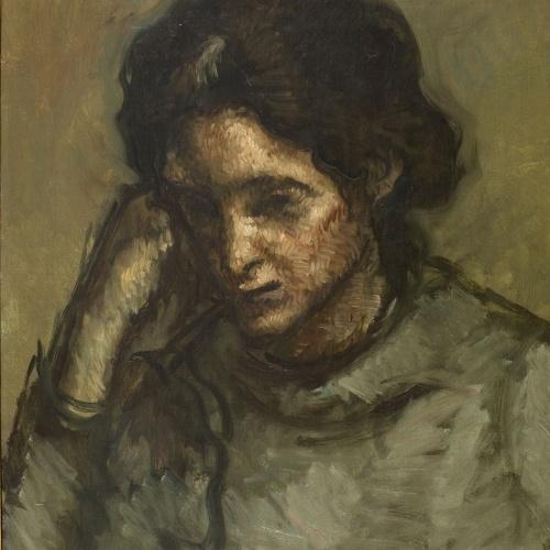 Isidre Nonell - Pilar - Barcelona, 1907