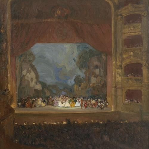 Ricard Urgell - Els Ballets Russos al Liceu - Cap a 1917-1918