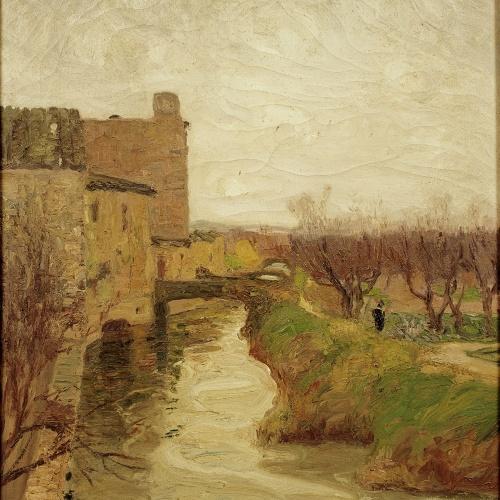 Ricard Urgell - El molí - 1917