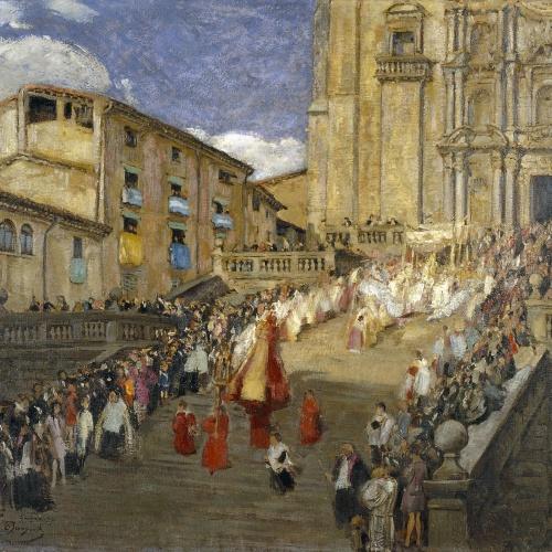Oleguer Junyent - Corpus (Girona) - 1927