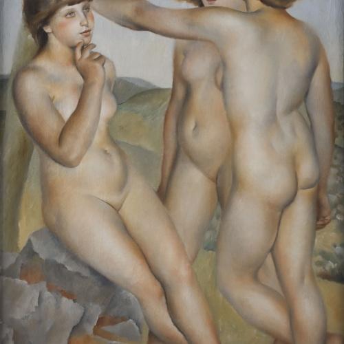 Josep de Togores - Tres nus - Comps sur l'Artuby, 1924