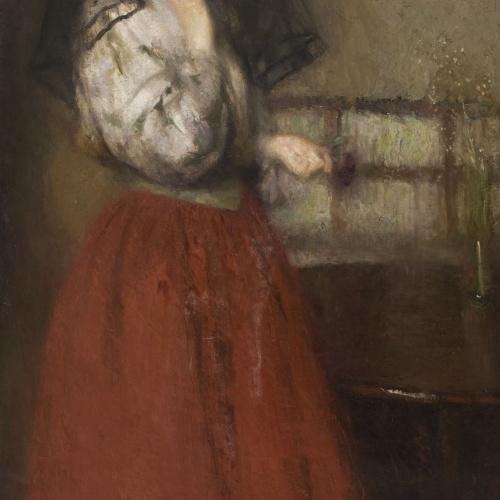 Edyth Starkie Rackham - El vel negre - Cap a 1911
