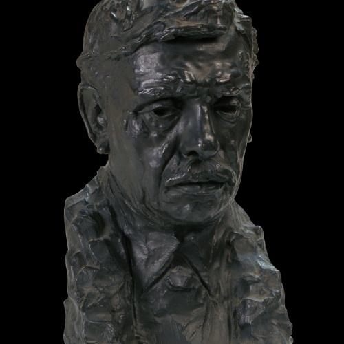 Auguste Rodin - Portrait of the Sculptor Alexandre Falguière - 1897