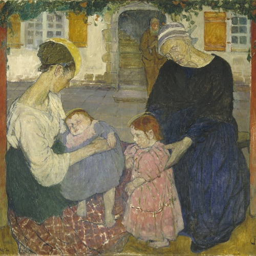 Mela Muter - Holy Family - Paris, circa 1909