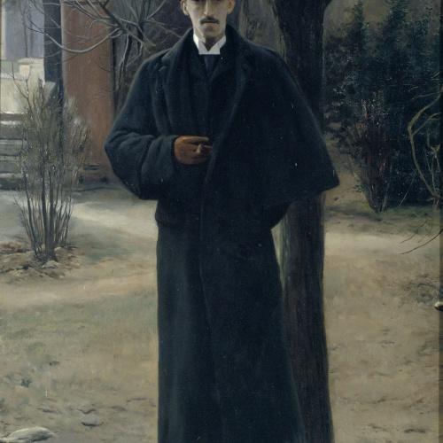 Santiago Rusiñol - Retrat de Miquel Utrillo - París, 1889-1890