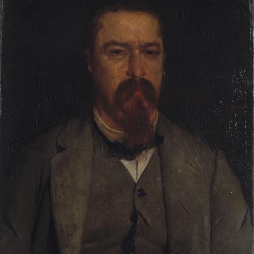 Marià Fortuny - Male Portrait - Circa 1855-1865