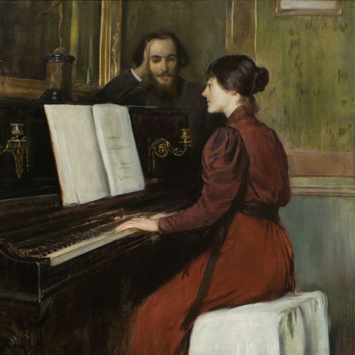 Santiago Rusiñol - Una romança - París, 1894