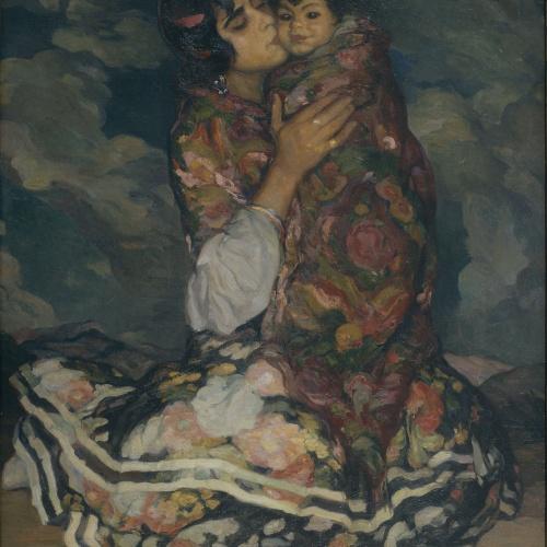 Joan Cardona - Motherly love - Circa 1914