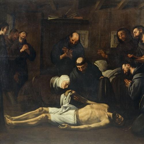 Antoni Viladomat - Mort de sant Francesc - Cap a 1729-1733