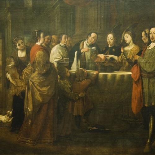 Antoni Viladomat - Baptisme de sant Francesc - Entre 1729-1733