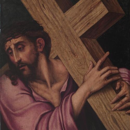 Luis de Morales (El Divino) - Christ Carrying the Cross - Between 1560-1565