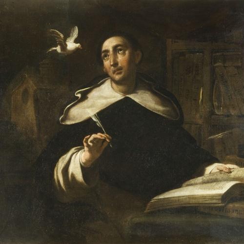 Antoni Viladomat - Saint Thomas Aquinas - Between 1700-1755