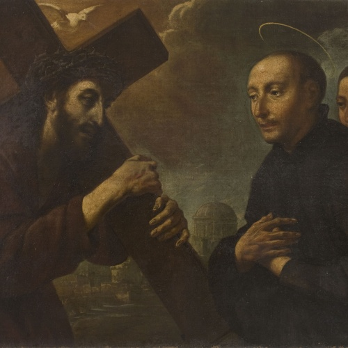Antoni Viladomat - Apparition of Christ to Saint Ignatius - Between 1700-1755