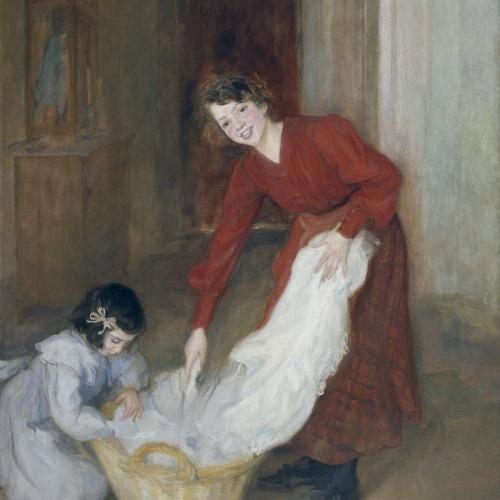 Lluïsa Vidal - Les mestresses de casa - 1905