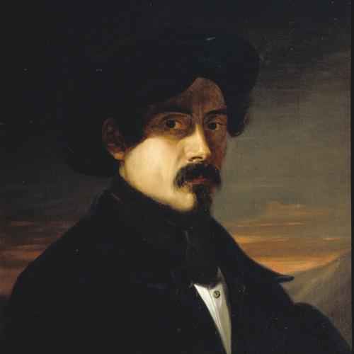 Josep Arrau Barba - Autoretrat - 1837