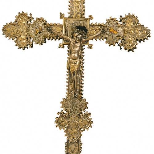 Anònim. Catalunya. Barcelona - Creu processional - Primer quart del segle XV