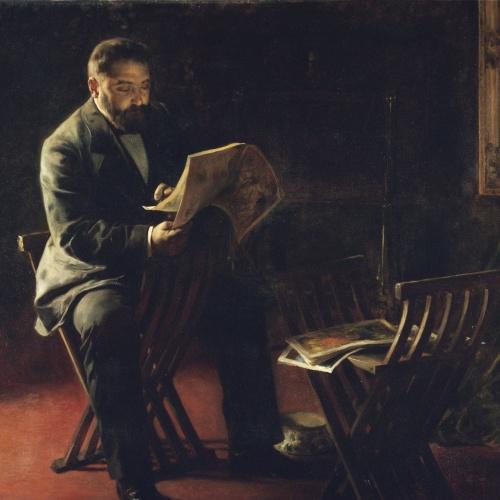 Lluís Graner - Retrat de Joaquim Cabot i Rovira - Cap a 1899