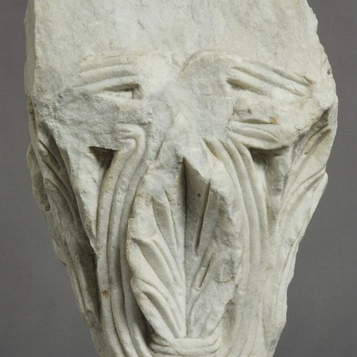 Anònim - Capitell de l'hospital de Sant Nicolau - Cap a 1200-1220