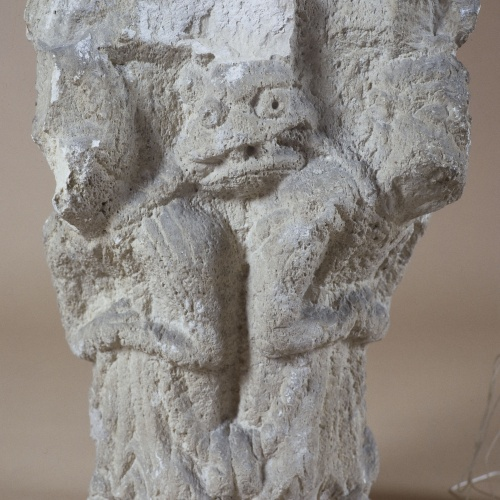 Anònim - Capitell de Sant Pere de Besalú - Cap a 1200 [1]