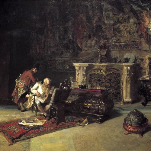 Marià Fortuny - El col·leccionista d'estampes - Roma, 1866