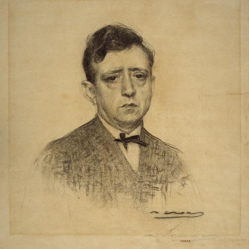 Ramon Casas - Portrait of Ricard Opisso - 1920