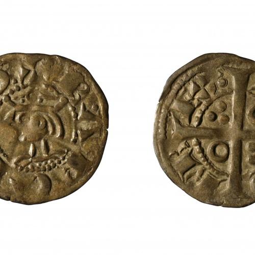 Jaume I, dit «El Conqueridor» - Denier of 'tern' - 1258-1276