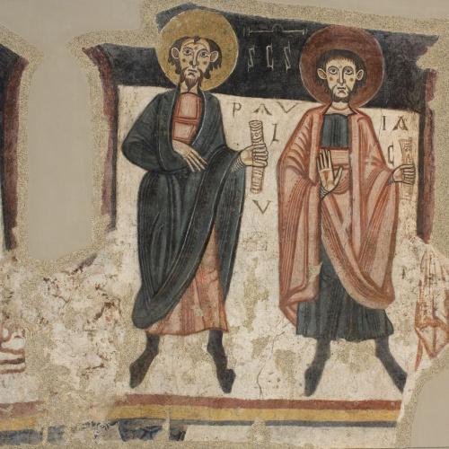 Mestre de Santa Coloma d'Andorra - Apostolat de Sant Romà de les Bons - Cap a 1164 [2]