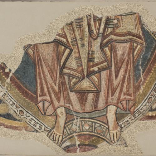 Mestre de Santa Coloma d'Andorra - Fragment de la Maiestas Domini, de Sant Romà de les Bons - Cap a 1164