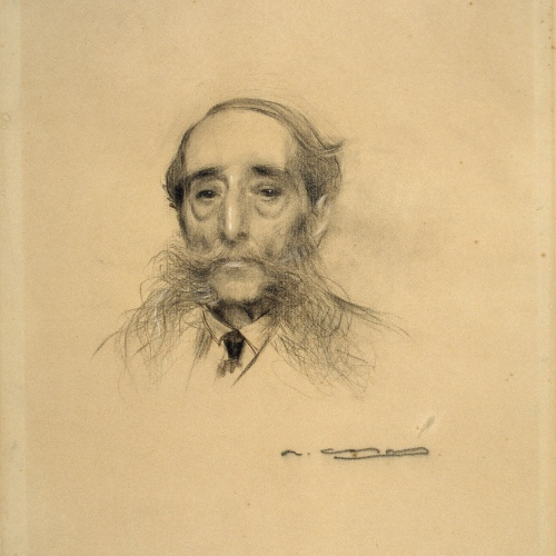 Ramon Casas - Portrait of Maurici Vilomara - Circa 1905-1910