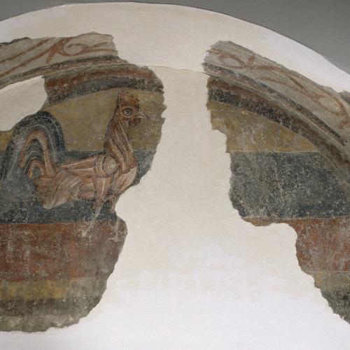 Mestre de Boí - Gall de Sant Joan de Boí - Cap a 1100