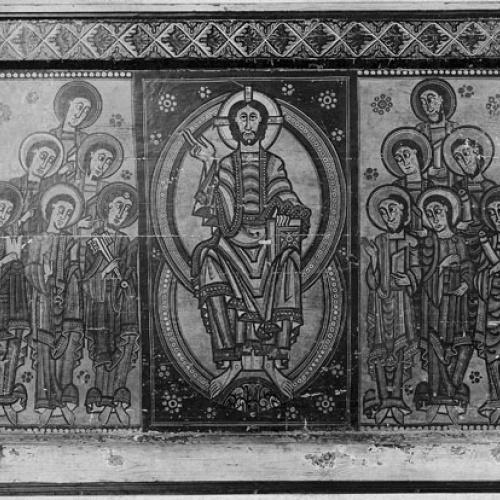 Anònim. Catalunya. Taller de la Seu d'Urgell - Frontal d'altar de la Seu d'Urgell o dels Apòstols - Segon quart del segle XII [7]