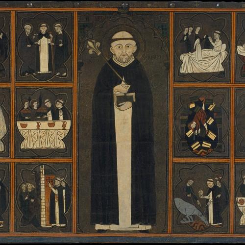 Anònim. Aragó - Taula de sant Domènec de Guzmán - Primer quart del segle XIV