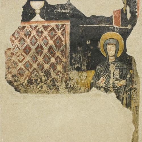 Anònim. Catalunya - Santa vora un altar d'Estaon - Mitjan segle XII