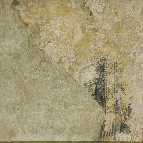 Anònim. Catalunya - Fragment de personatge d'Estaon - Mitjan segle XII