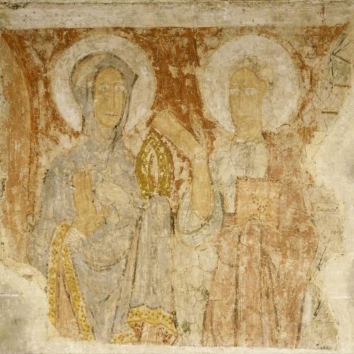 Mestre de la Seu d'Urgell - Fragment d'un segon arrencament de la Mare de Déu i sant Joan, de la Seu d'Urgell - Segon quart del segle XII