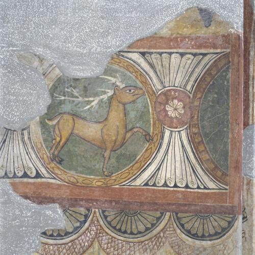 Mestre de Santa Maria de Taüll - Arc del Tetramorf amb serafí i arcàngel de Santa Maria de Taüll - Cap a 1123 [1]