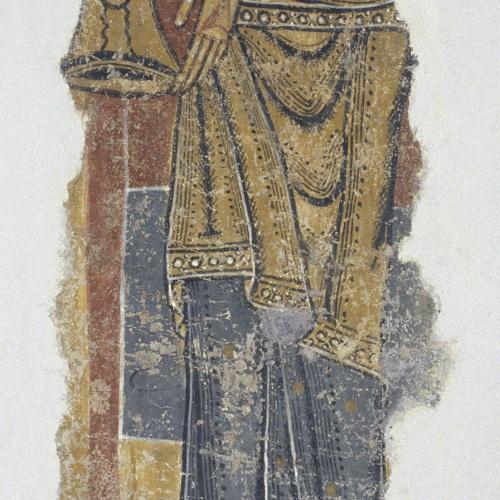 Mestre del Judici Final - Figura amb un vas de Santa Maria de Taüll - Després de 1123
