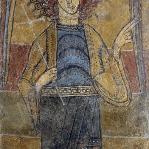 Mestre del Judici Final - Absis nord de Sant Climent de Taüll - Cap a 1123 [1]