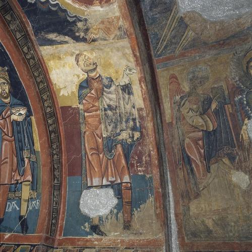 Mestre de Santa Maria de Taüll - Arc de l'Ofrena d'Abel de Santa Maria de Taüll - Cap a 1123