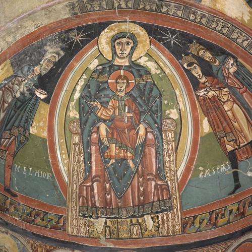 Mestre de Santa Maria de Taüll - Absis de Santa Maria de Taüll - Cap a 1123 [5]