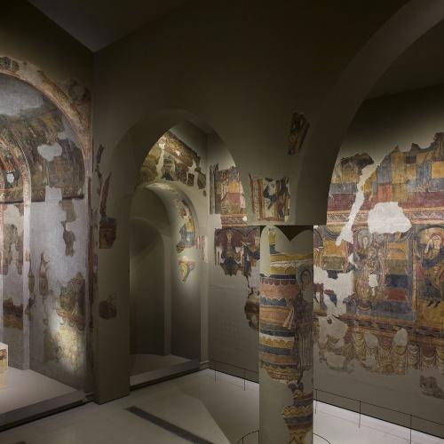 Mestre de Santa Maria de Taüll - Pintures de Santa Maria de Taüll - Cap a 1123