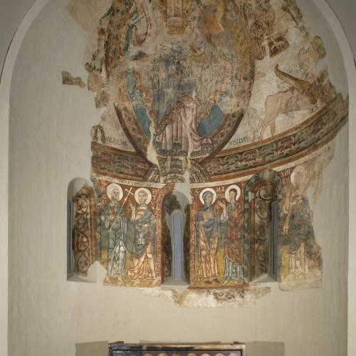Mestre de la Seu d'Urgell - Pintures de Sant Pere de la Seu d'Urgell - Segon quart del segle XII
