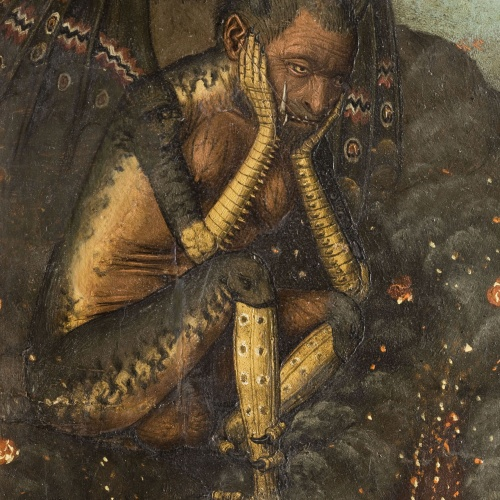 Bartolomé Bermejo - Davallament de Crist als Llimbs - Cap a 1474-1479 [1]