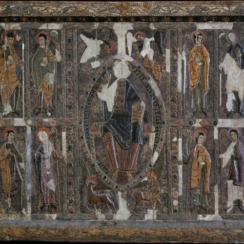 Anònim. Catalunya. Taller de Ripoll - Frontal d'altar de Planès - Segona meitat del segle XII
